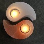 Yin Yang Candle Holders